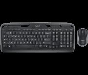Kit Teclado e Mouse Logitech MK330 USB Wireless Preto