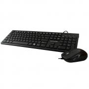 Kit Teclado e Mouse Multilaser Multimídia USB Slim - TC240