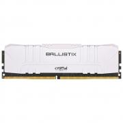 Memória Crucial Ballistix 8GB DDR4 3000 Mhz, Branco - BL8G30C15U4W