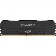 Memória DDR4 Crucial Ballistix, 8GB, 2666MHz, Black, BL8G26C16U4B