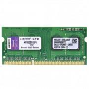 Memória Kingston 4GB, 1333MHz, DDR3, Notebook, CL9 - KVR13S9S8/4