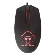 Mouse Gamer K-mex Pirata Office 1200Dpi Usb - M3400