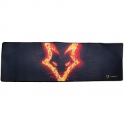 Mousepad Gamer Husky Fire Storm, Speed, Extra Grande (900x290mm) - MP-HST-FR