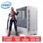 PC Gamer SKS Intel I5 9400F 16GB SSD 240GB GTX 1650 4GB 600W 80 Plus