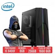PC Gamer MG3 Intel I5 9400F 8GB SSD 240GB GTX 1660 SUPER 6GB 600W 80 Plus