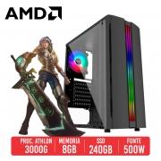 PC Gamer Tommy Gun AMD Athlon 3000G, 8GB, SSD 256GB, 550W