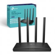 Roteador TP-Link AC1200 Mbps Mesh Wireless MU-MIMO Gigabit, Dual-Band - Archer C6
