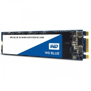 SSD WD Blue, 250GB, M.2, Leitura 550MB/s, Gravação 525MB/s - WDS250G2B0B