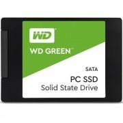 SSD WD Green, 480GB, SATA, Leitura 545MB/s, Gravação 430MB/s - WDS480G2G0A