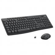 Teclado e Mouse Logitech MK295 Sem Fio Preto