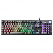 Teclado Gamer HP K500F, LED, ABNT2 - 7ZZ97AA#AC4