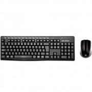 Teclado + Mouse Sem Fio C3Tech, ABNT2 - K-W30BK