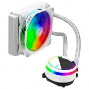 Water Cooler Alseye, RGB Branco - M120