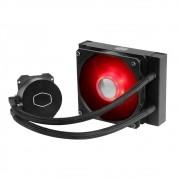 Water Cooler Cooler Master Masterliquid ML120L V2, 120mm, LED Red - MLW-D12M-A18PR-R2