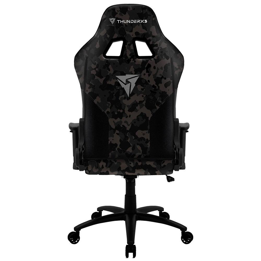 Cadeira Gamer EC3 Preta THUNDERX3 Black Hawk Camuflada