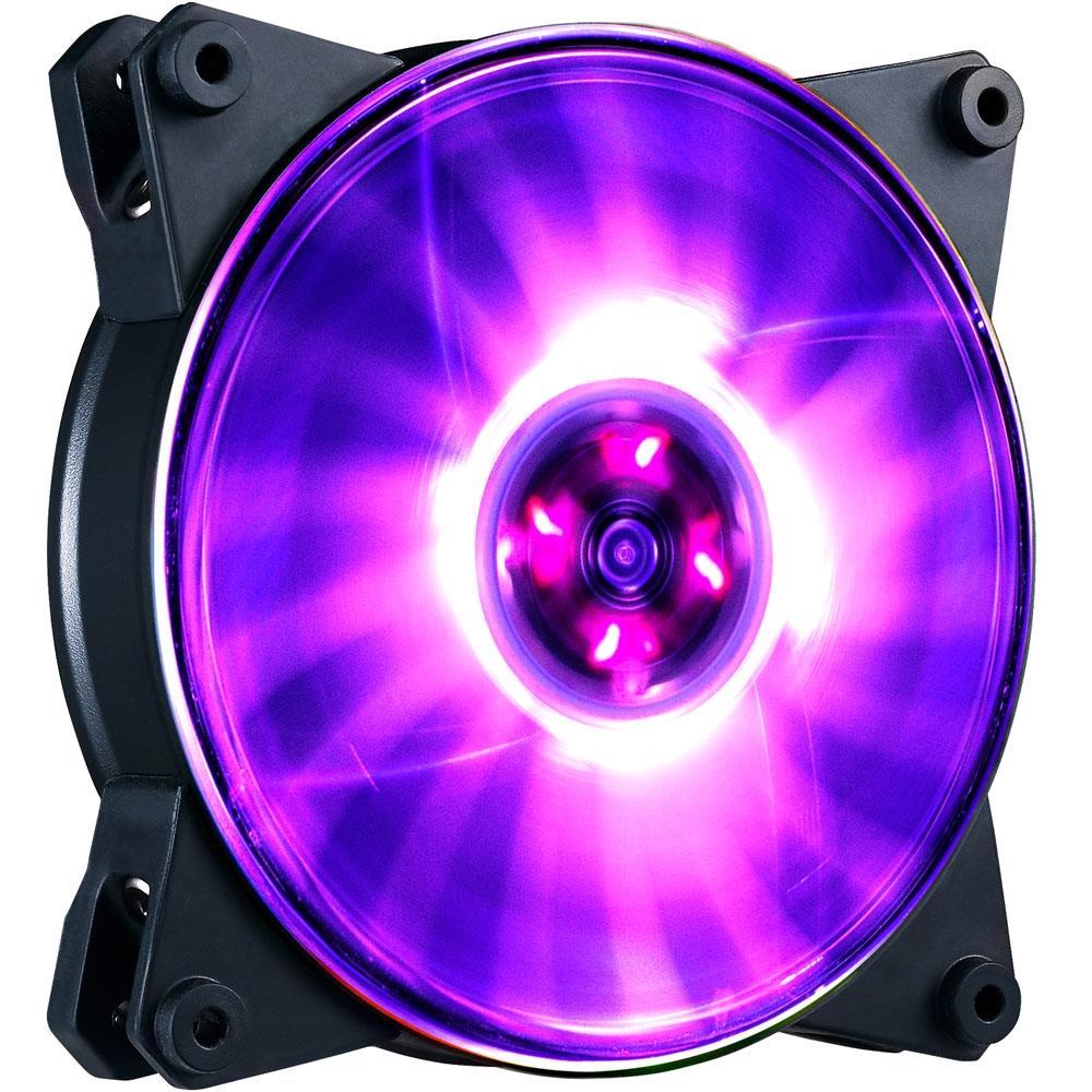 Cooler FAN Coolermaster MasterFan Pro 120 Air Balance - LED RGB 120mm