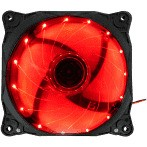 Cooler fan G-FIRE led vermelho - EW1512E
