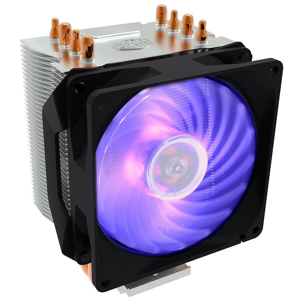 Cooler para Processador Cooler Master Hyper H410R RGB, AMD/Intel - RR-H410-20PC-R1