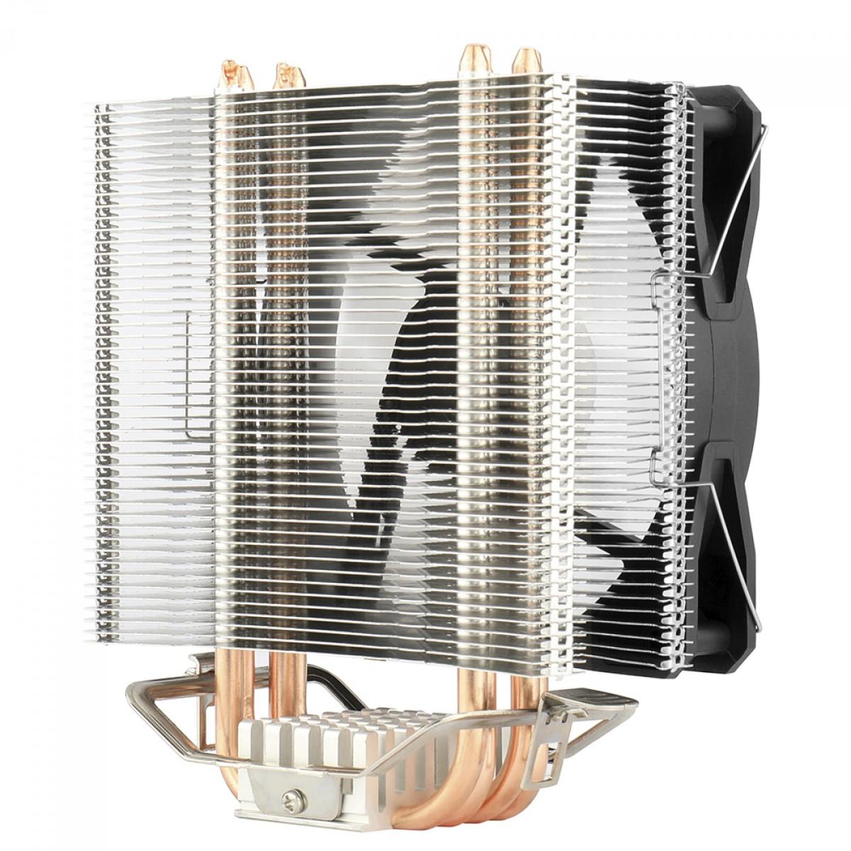Cooler para Processador Redragon Tyr, 120mm, Rainbow, Intel-AMD, CC-9104