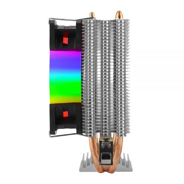 Cooler para Processador T-Dagger Idun M, 90mm, Rainbow, Intel-AMD - T-GC9109 M