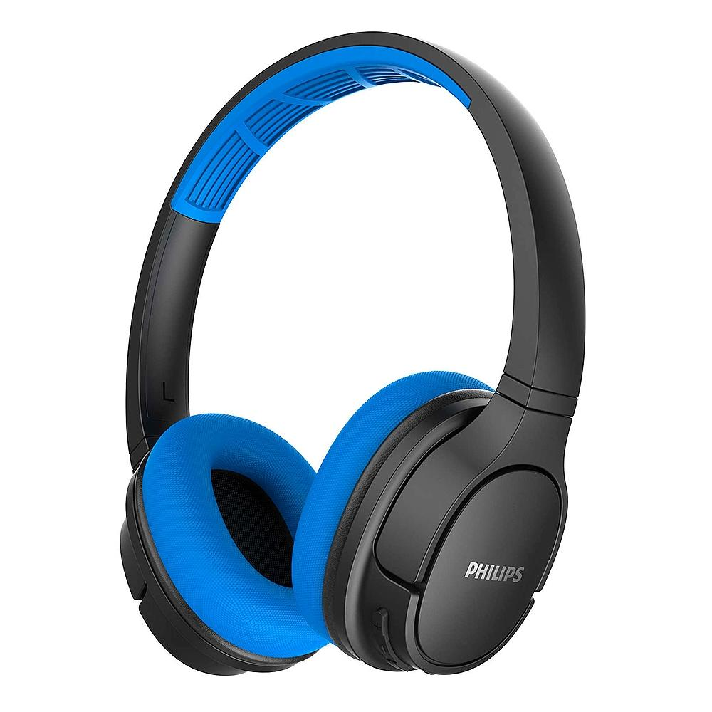 Fone de Ouvido Bluetooth Philips Sport, Preto/Azul - TASH402BL/00