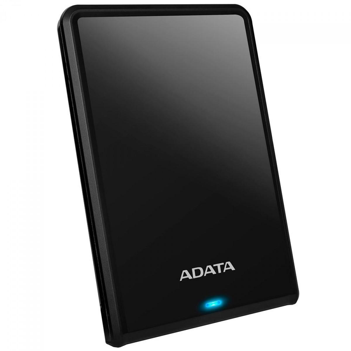 HD Externo Portátil Adata 1TB, 2.5 USB 3.0, Preto