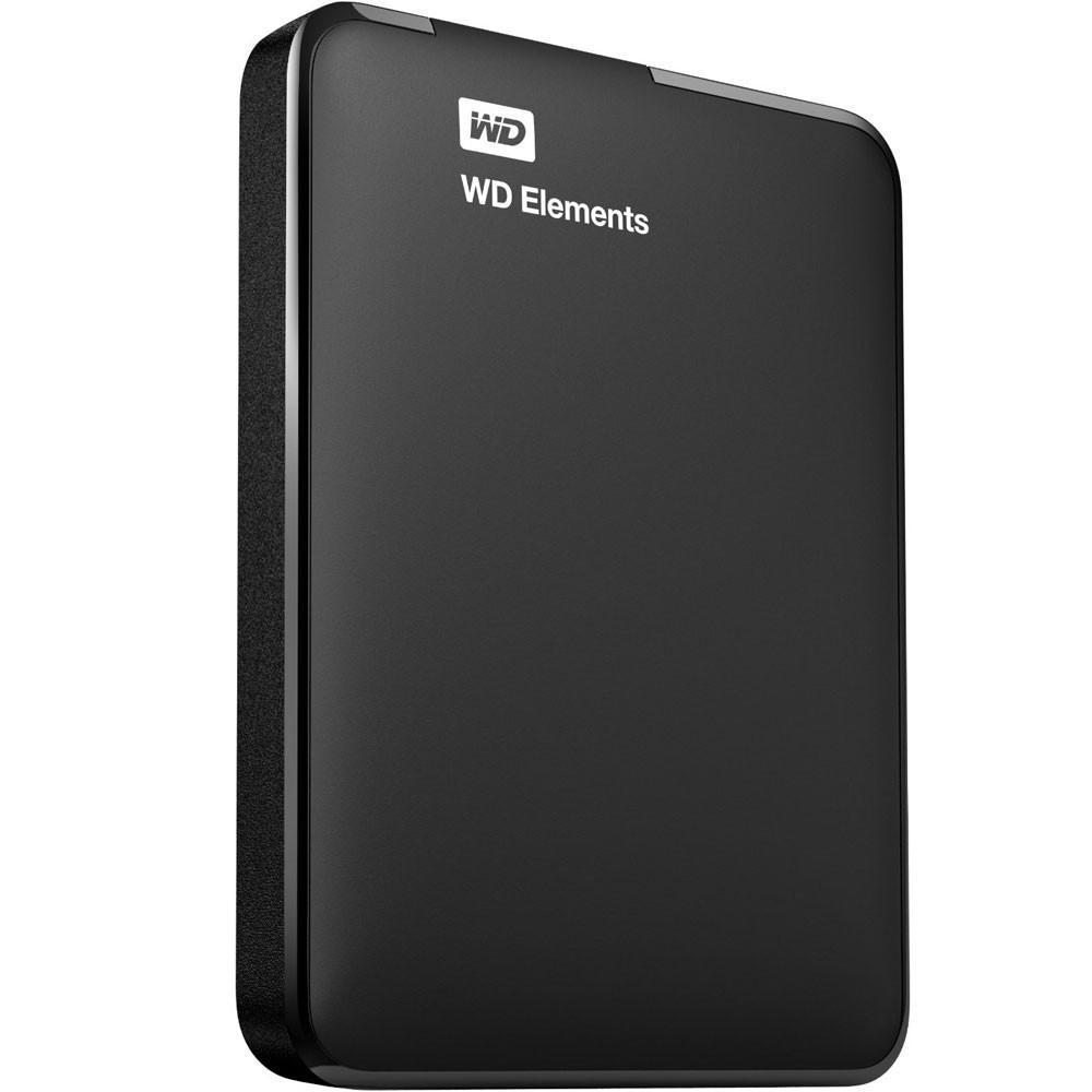 HD Externo WD 1TB Portátil Elements USB 3.0 - WDBUZG0010BBK
