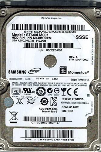 Hd Notebook Samsumg 640gb - ST640LM001