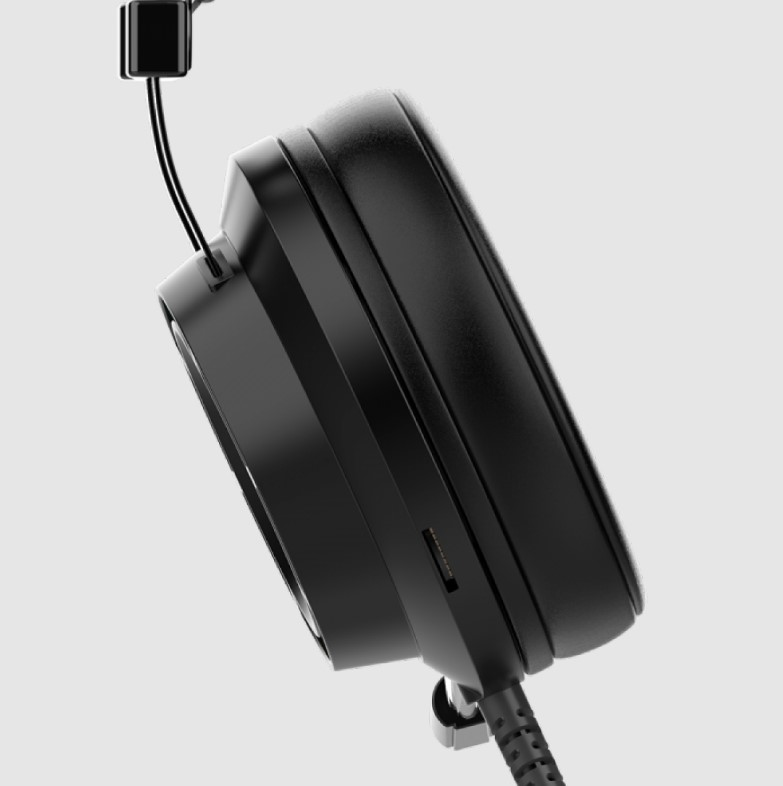 Headset Gamer Marvo Scorpion, 7.1 Surround, USB, Rainbow, Black, HG9062
