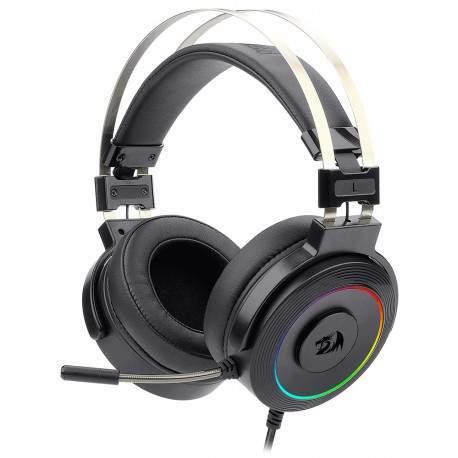 Headset Gamer Redragon Lamia2 H320-1 RGB Surround 7.1 Preto