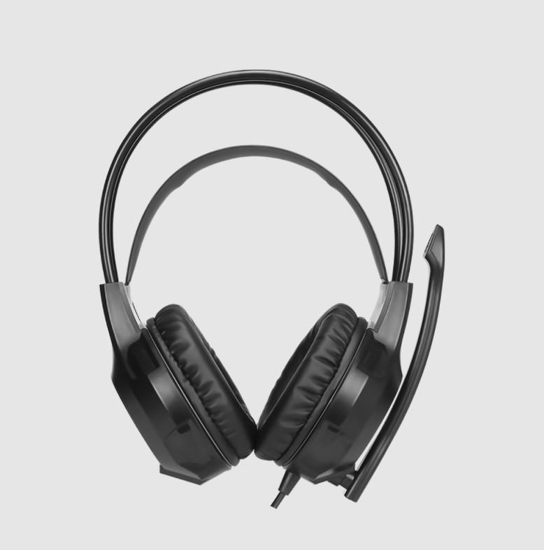 Headset Gamer Xtrike Me, 2x3.5mm + USB, PC, Black, RGB, GH-709