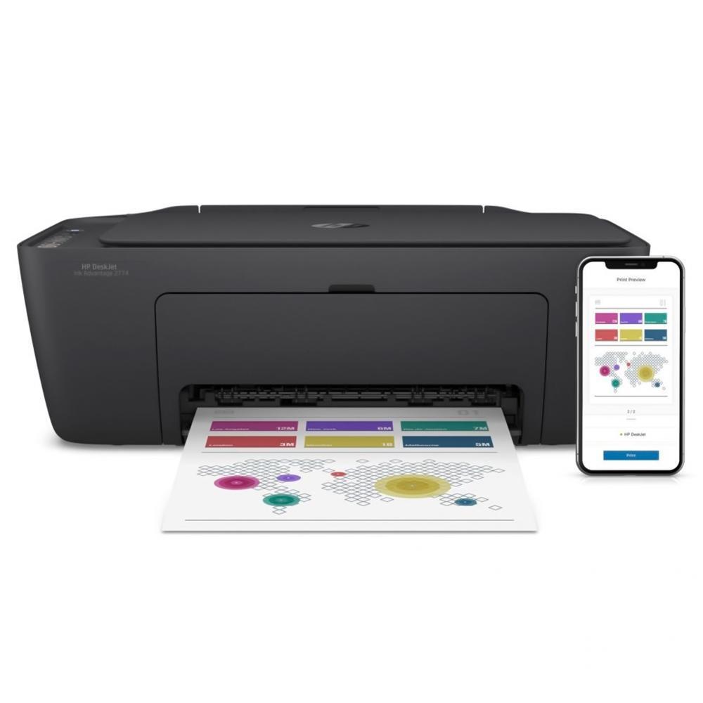 Impressora Multifuncional HP Ink Advantage WiFi - 2774