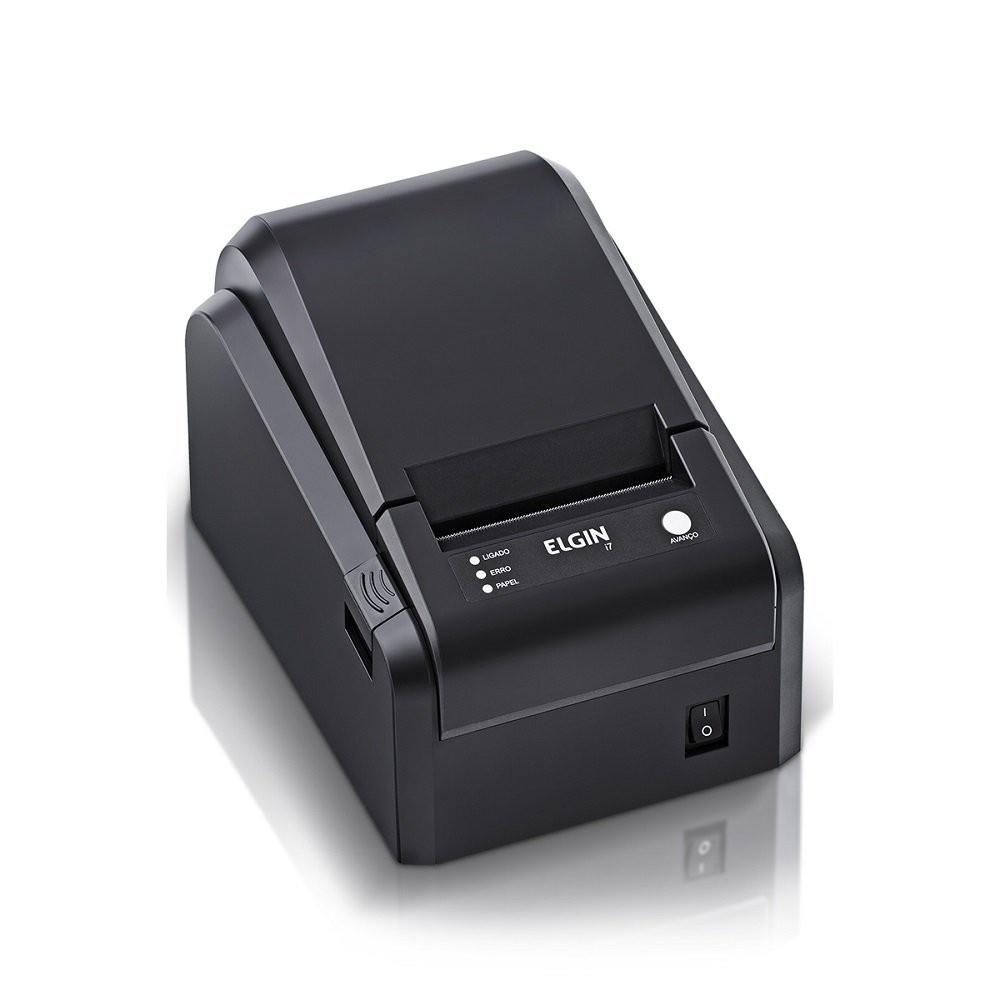 Impressora Não Fiscal Térmica I7 Elgin Serrilha Usb