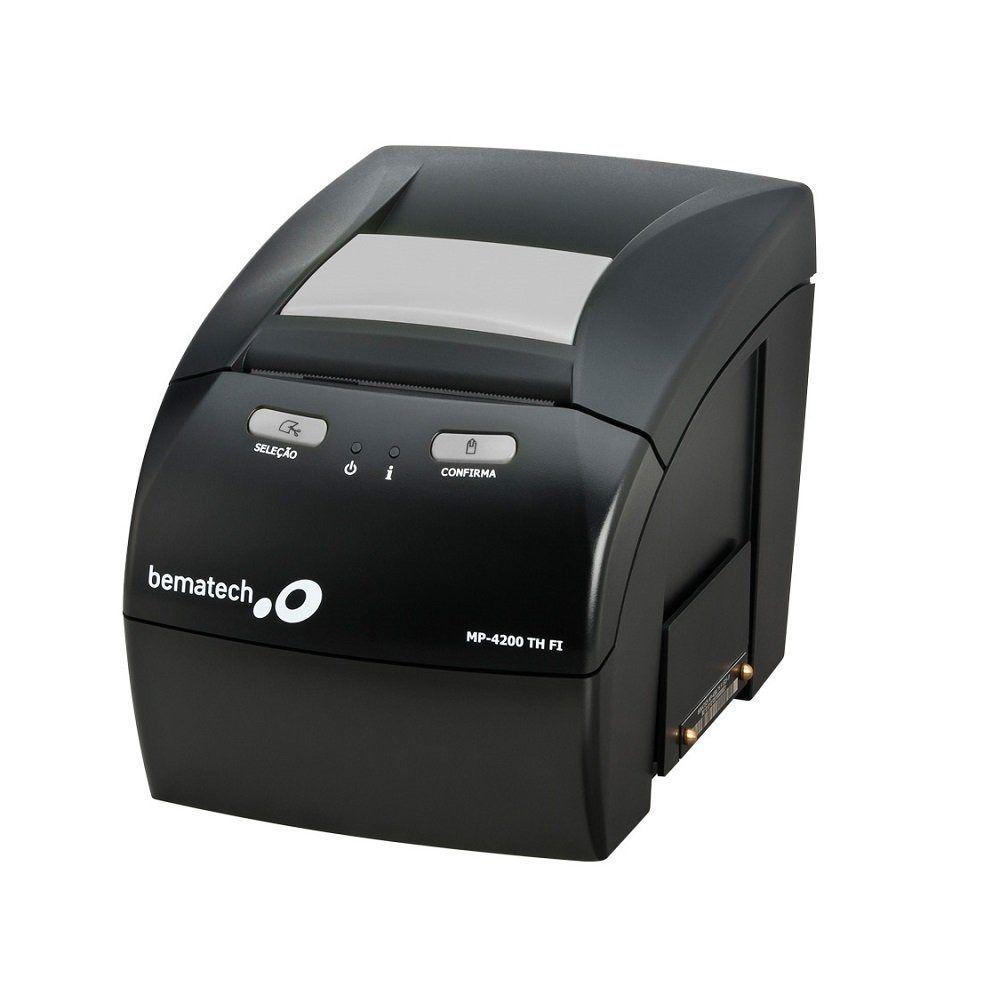 Impressora Térmica Fiscal Bematech MP-4200 TH FI II