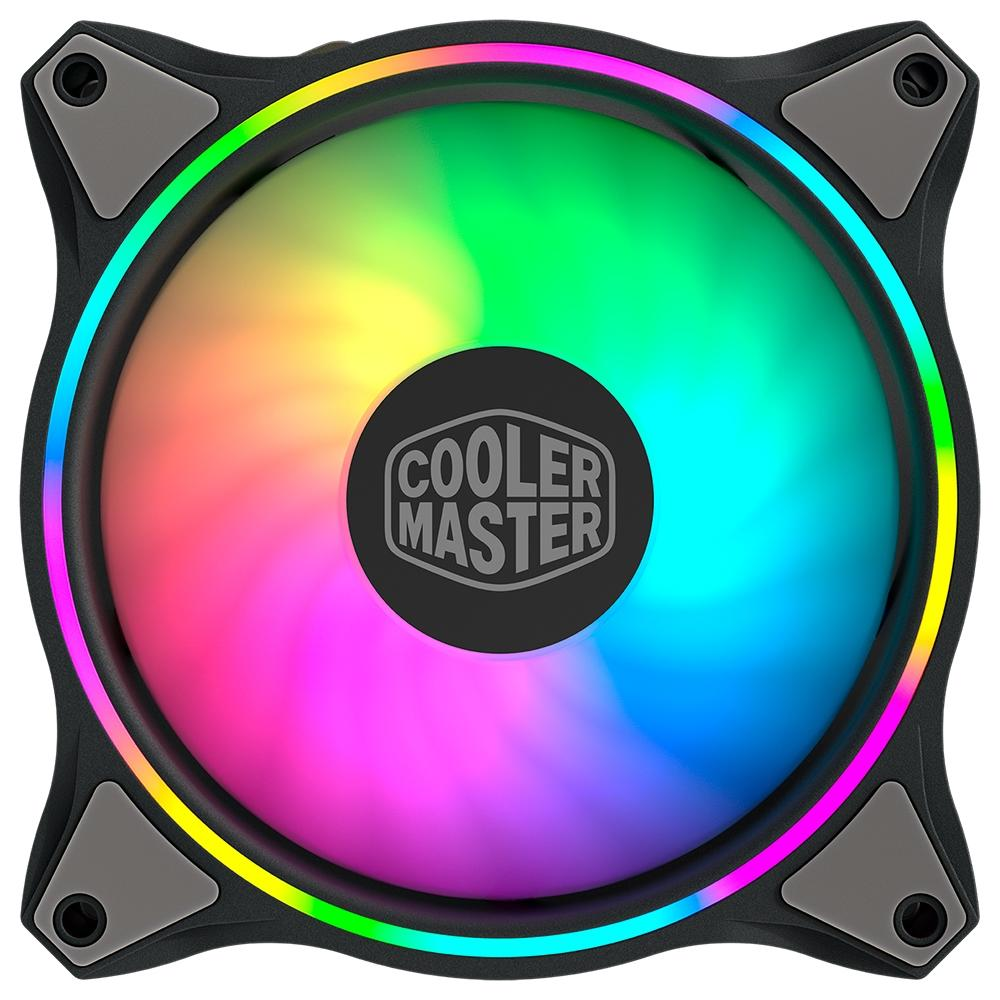 Kit 3 Cooler FAN Cooler Master Masterfan MF120 Halo, 360mm, ARGB - MFL-B2DN-183PA-R1