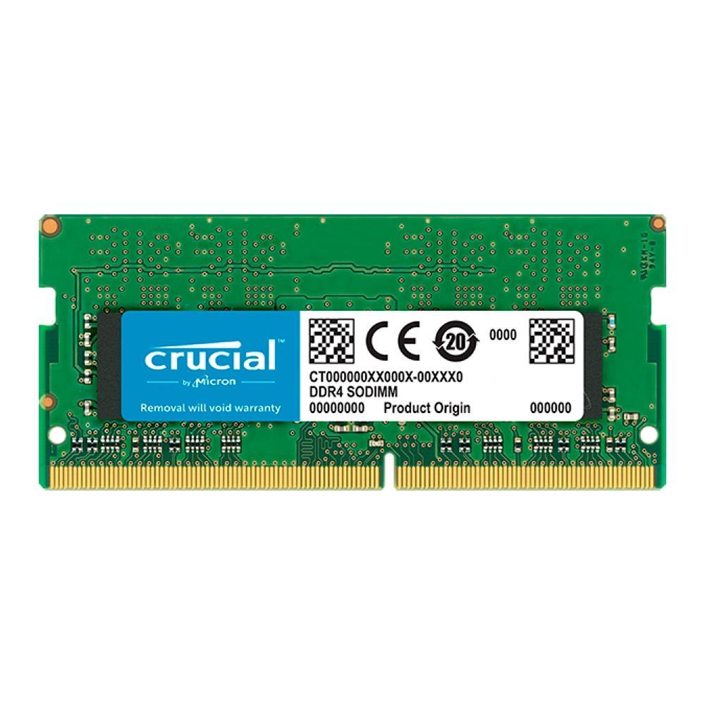 Memória Crucial Para Notebook 8GB, CL19, 2666MHz, DDR4, Sodimm - CB8GS2666
