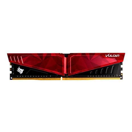 Memoria Team Group T-Force Vulcan 8GB DDR4 2666Mhz Vermelha, TLPRD48G2666HC18H01
