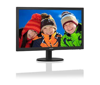 "MONITOR PHILIPS 21,5"" LED FULL HD HDMI - 223V5LHSB2"