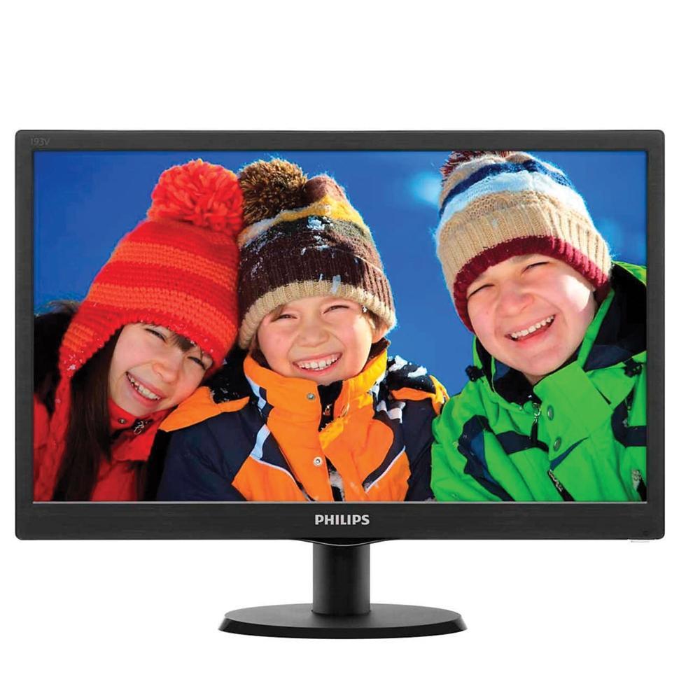"Monitor Philips LED LCD 18.5"", HDMI, VGA - 193V5LHSB2"