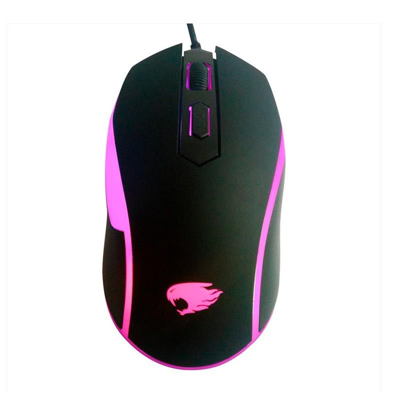 Mouse Gamer G-Fire 4D Wired 1200DPI Rainbow, MOG016