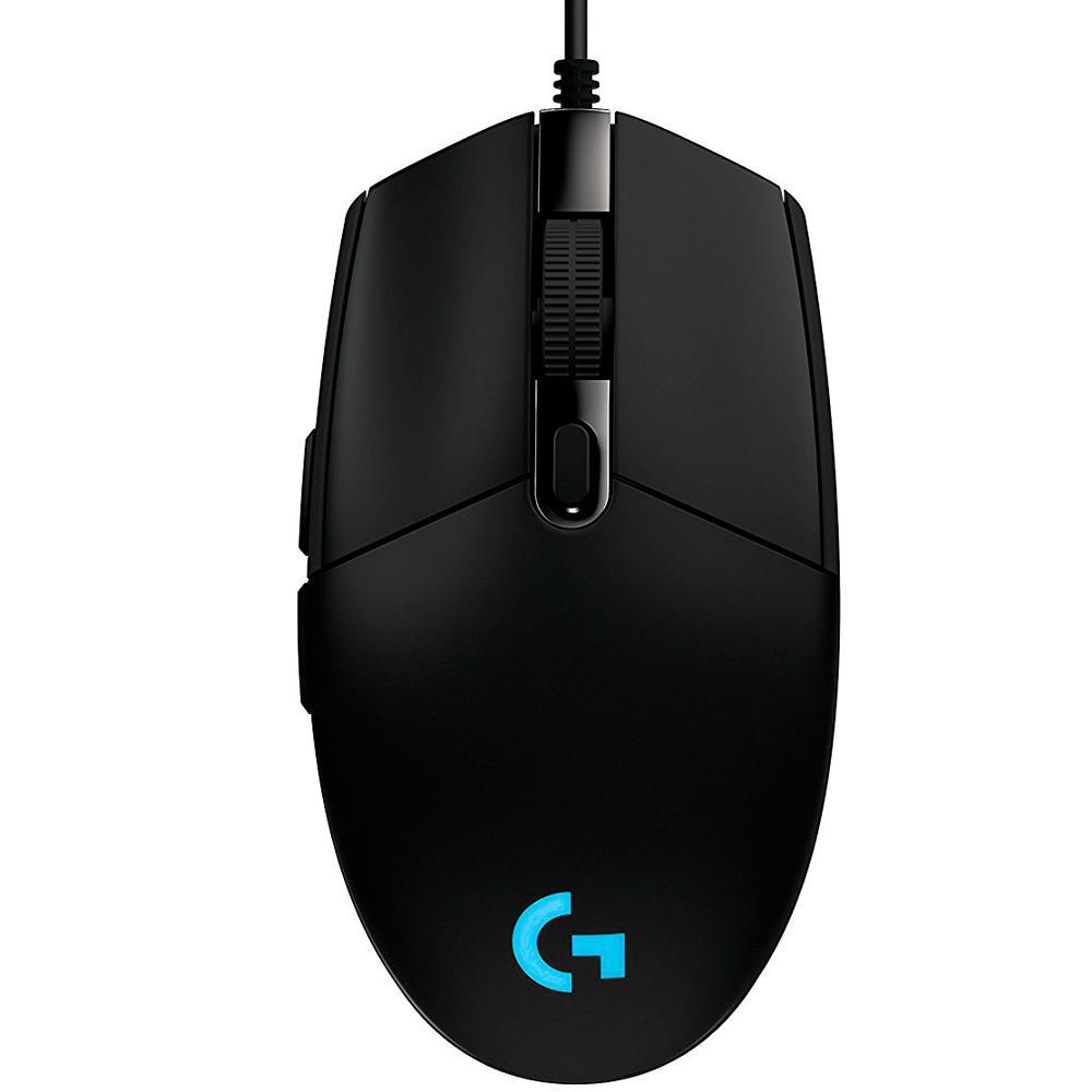 Mouse Gamer Logitech G203 Prodigy, RGB Lightsync, 6 Botões, 8000 DPI - 910-004843