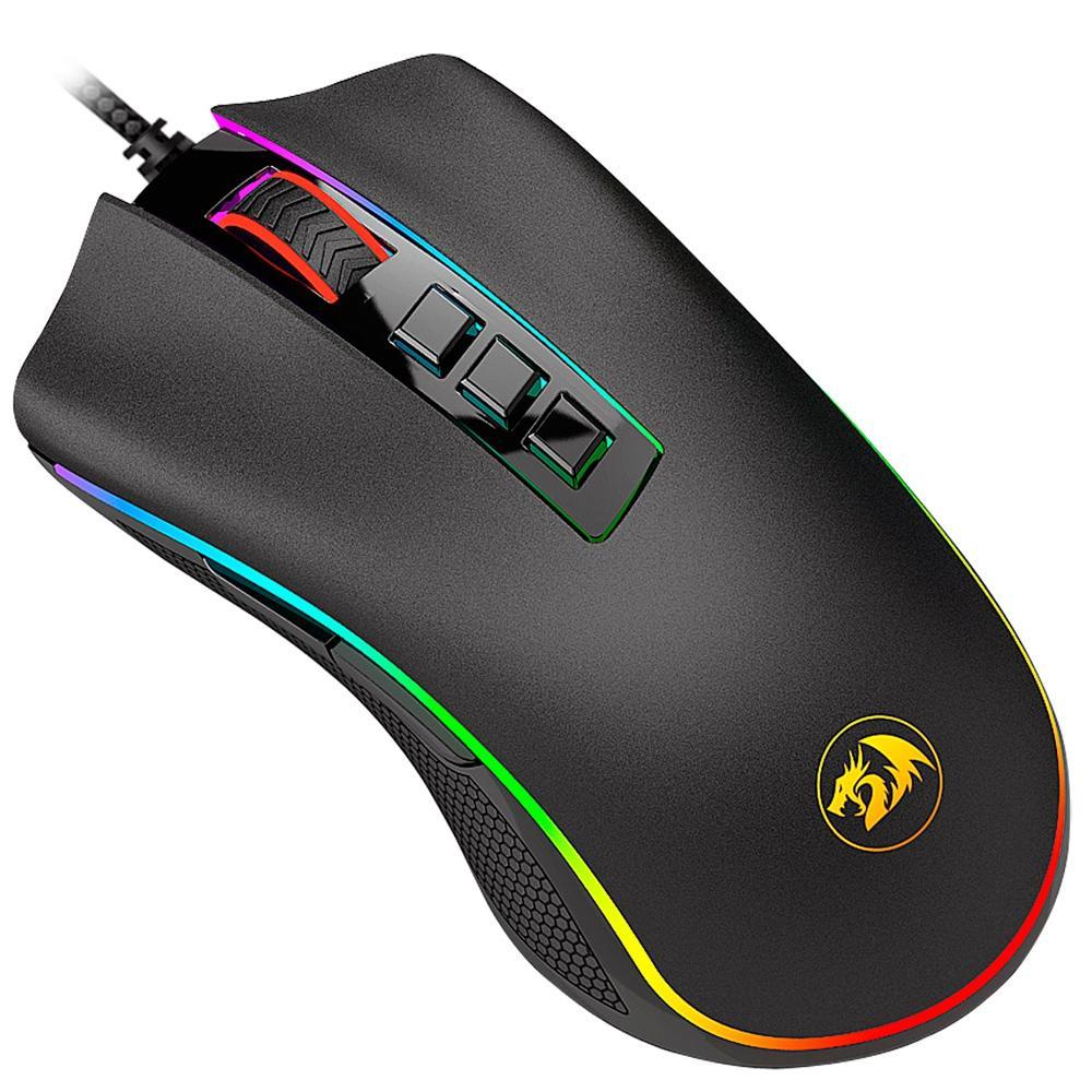 Mouse Gamer Redragon Cobra 10000DPI Chroma - M711