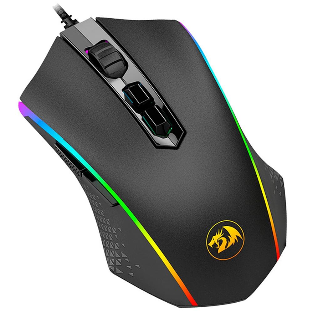 Mouse Gamer Redragon Memeanlion 10000DPI, RGB, - M710