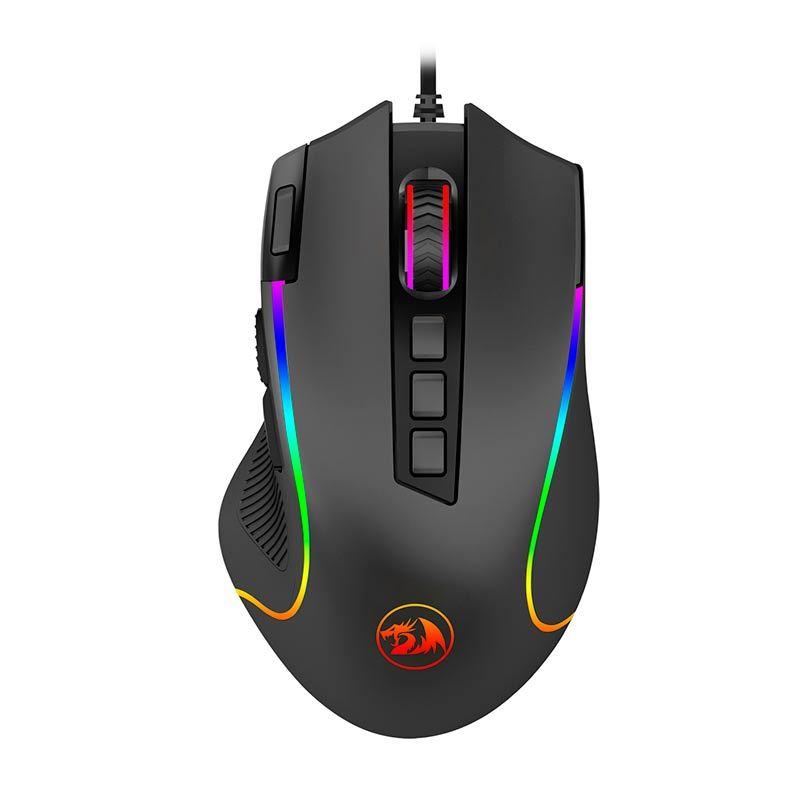 Mouse Gamer Redragon Predador RGB 8000DPI, M612-RGB