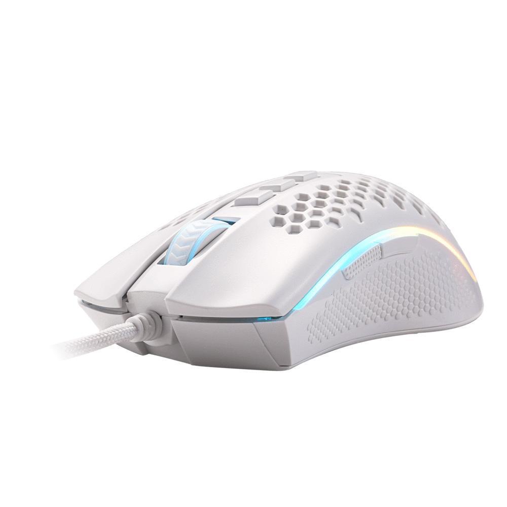 Mouse Gamer Redragon Storm Elite Lunar, RGB, 16000DPI - M988W