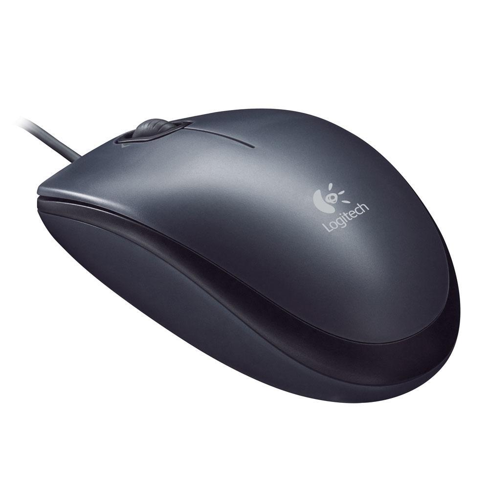 Mouse Logitech M100 Preto 1000DPI - 910-001601