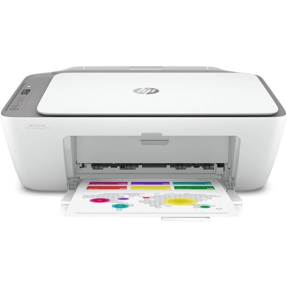 Multifuncional HP DeskJet Ink Advantage 2776, Jato de Tinta, Colorida, Wi-Fi, Bivolt - 2776