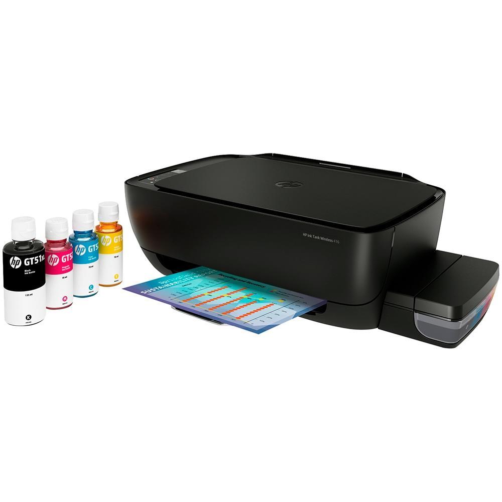 Multifuncional HP Ink Tank 416, Jato de Tinta, Colorida, Wi-Fi, Bivolt - Z4B55A