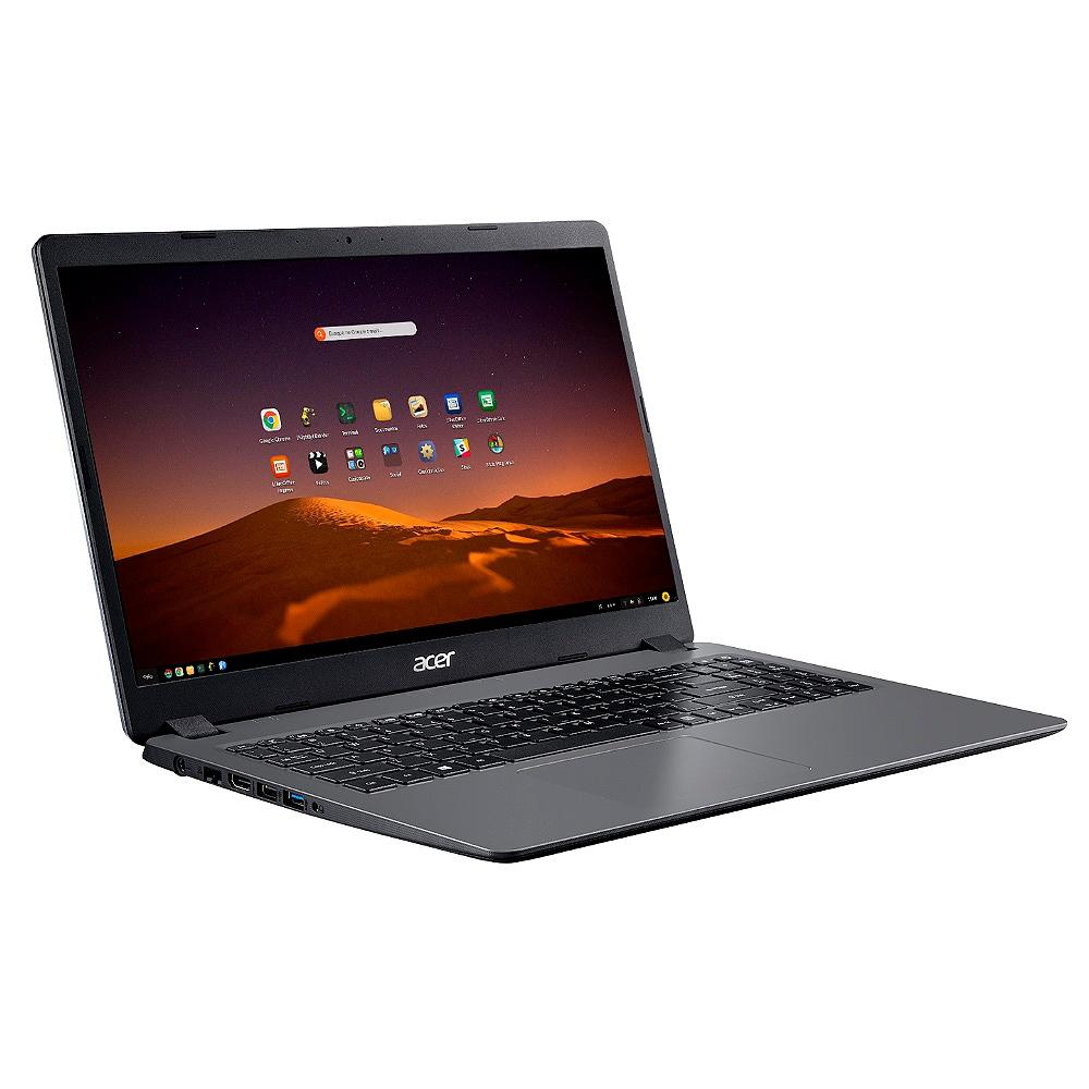 Notebook Acer Aspire 3 Intel Core i5-1035G1, 4GB, SSD 256GB, Endless OS, 15.6´, Gray - A315-56-569F