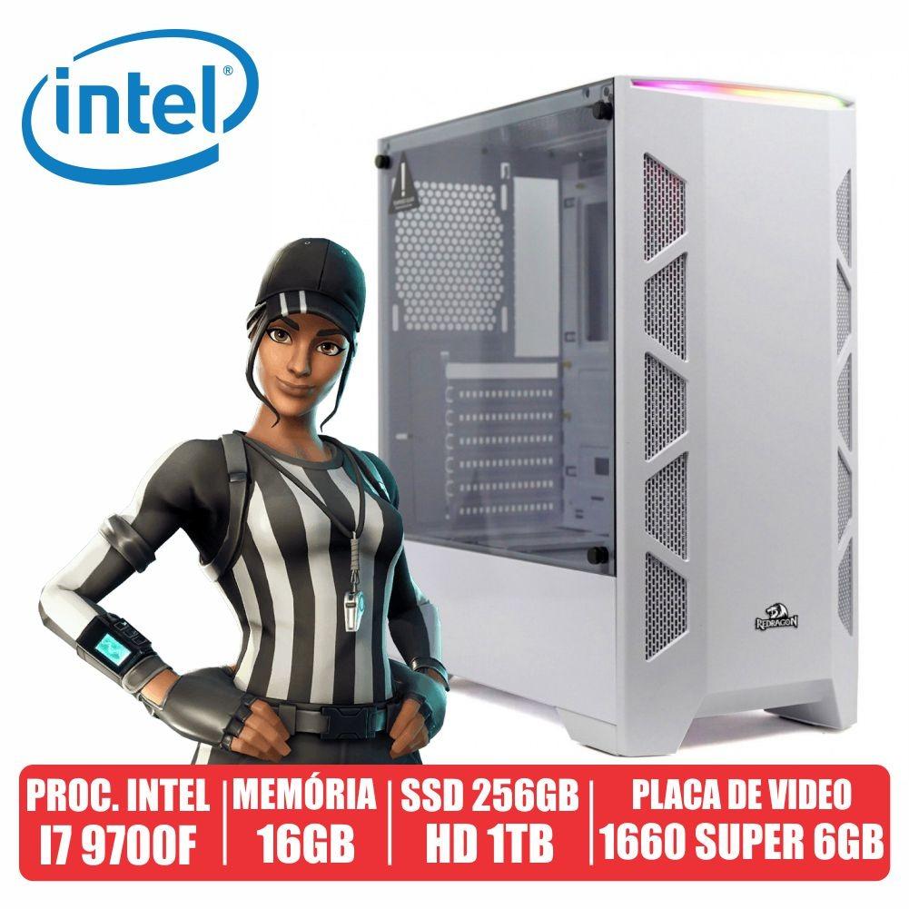 Pc Gamer AN94 Intel i7 9700F 16gb Ssd 256gb + Hd de 1tb Gtx 1660 Super 6gb 600w 80 Plus